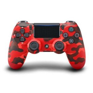 DualShock 4 Controller Red Camouflage PS4