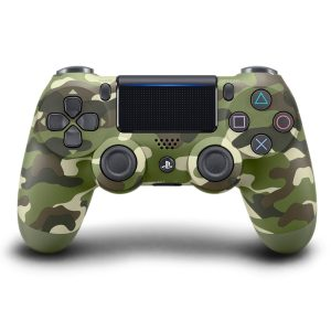 DualShock 4 Controlle Green Camouflage PS4