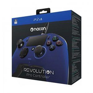 يد ناكون برو كنترولر 2 ريفوليوشن أزرق PS4