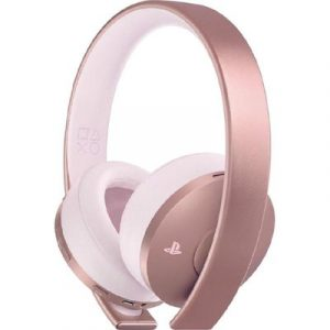 Gold Wireless Headset Stereo- Rose PS4