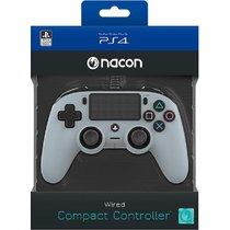 nacon wired-compact controller-for grey PS4