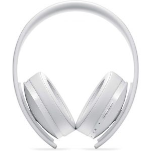 Gold Wireless Headset Stereo- White PS4