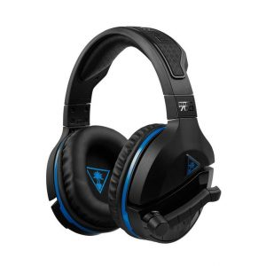 turtle beach stealth 700 wireless 7.1 gaming headset – black & blue PS4