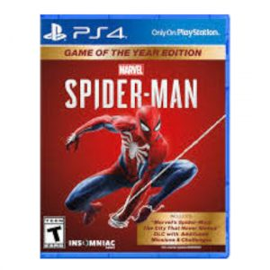 SPIDERMAN GAME OF THE YEAR EDITION
