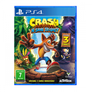 CRASH BANDICOOT N.SANE TRIOLOGY