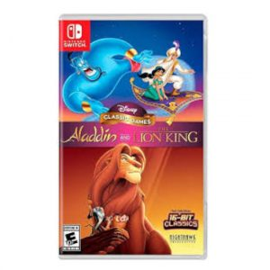 Aladdin AND LION KING Switch