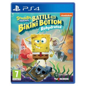 SpongeBob battle for bikini bottom PS4